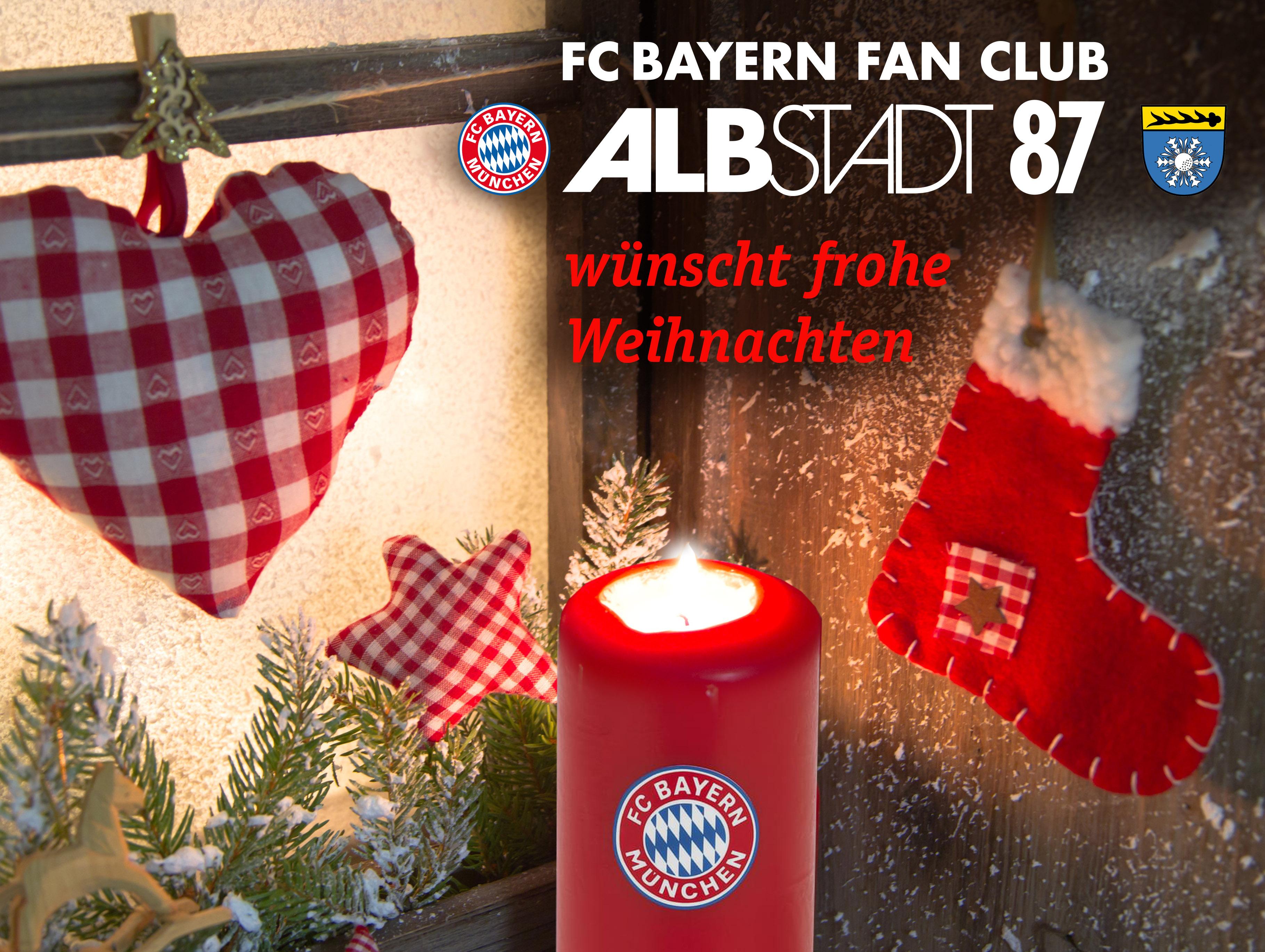 Fc Bayern Wünscht Frohe Weihnachten.Frohe Weihnachten 2018